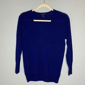 J. Crew Lightweight Merino Wool V-neck Sweater